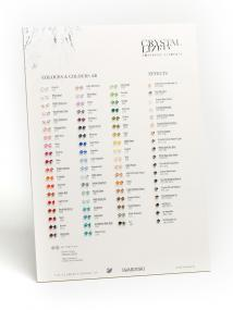 Beads Colour Chart