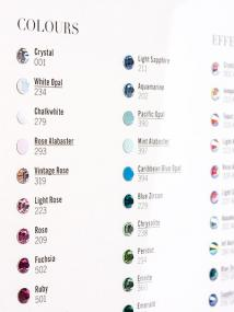 Flat Back Colour Chart
