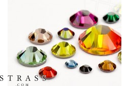 Rhinestones No-Hotfix of Swarovski Crystals (Color Multi Size Mix) 648 Pieces