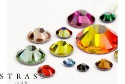 Rhinestones No-Hotfix of Swarovski Crystals (Color Multi Size Mix) 648 Pieces