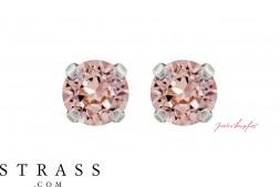 "Stud Earrings ""Sensillo"" Vintage Rose with original Swarovski Crystals"
