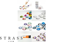 Nail Art Set with Swarovski Crystals (STRASSSET21)