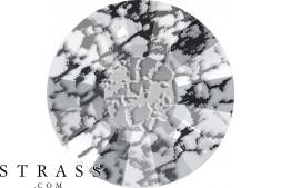 Swarovski Crystals 2034 SS 48 CRYSTAL BLACK-PAT F (5180558)