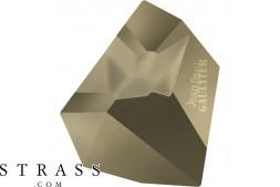 Swarovski Crystals 4922 Crystal (001) Metallic Light Gold (MLGLD)