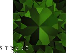 Swarovski Crystals 2058 SS 20 DARK MOSS GREEN F (5017619)