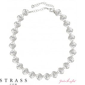 "Necklace ""Squad"" Crystal, with original Swarovski Crystals"