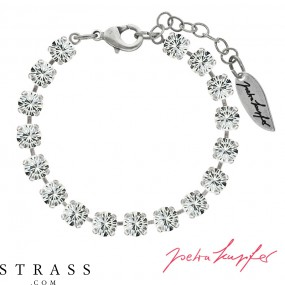 "Bracelet ""Verdosa"" with original Swarovski Crystals (Crystal)"