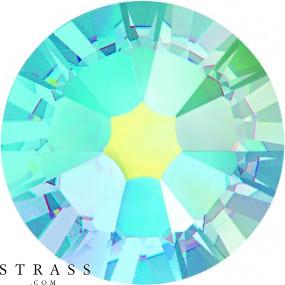 Swarovski Crystals 2058 Aquamarine (202) Aurore Boréale (AB)