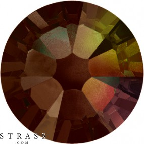 Swarovski Crystals 2058 SS 16 SMOKED TOPAZ AB F (1099939)