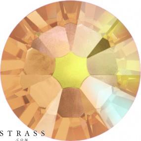 Swarovski Crystals 2058 Light Colorado Topaz (246) Aurore Boréale (AB)