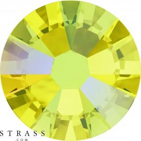 Swarovski Crystals 2058 Citrine (249) Shimmer (SHIM)
