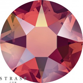 Swarovski Crystals 2078 Light Siam (227) Aurore Boréale (AB)