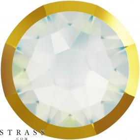 Swarovski Crystals 2088/I SS 16 WHITE OPAL DORADOZ F (5347936)