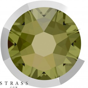 Swarovski Crystals 2088/I SS 20 KHAKI LTCHROMEZ F (5347970)