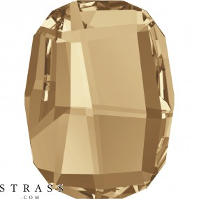 Swarovski Crystals 2585 Crystal (001) Golden Shadow (GSHA)