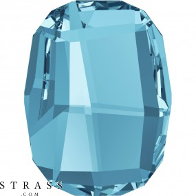 Swarovski Crystals 2585 MM 10,0 AQUAMARINE M HF (1136505)