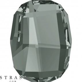 Swarovski Crystals 2585 MM 10,0 BLACK DIAMOND M HF (1136507)