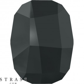 Swarovski Crystals 2585 MM 10,0 JET HEMAT M HF (1136502)