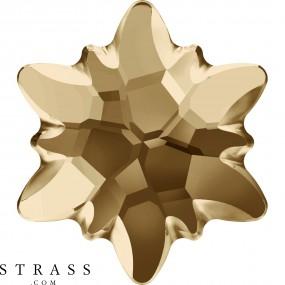 Swarovski Crystals 2753/G MM 14,0 CRYSTAL GOL.SHADOW M HF (5123777)