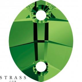 Swarovski Crystals 3224 MM 14,0X 11,0 DARK MOSS GREEN (5052417)