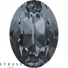Swarovski Crystals 4120 Crystal (001) Silver Night (SINI)