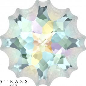 Swarovski Crystals 4195 Crystal (001) Aurore Boréale (AB)