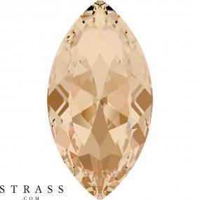 Swarovski Crystals 4227 MM 32,0X 17,0 CRYSTAL GOL.SHADOW F (840511)