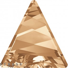 Swarovski Crystals 4717 MM 15,5 CRYSTAL GOL.SHADOW F (1160349)