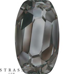 Swarovski Crystals 4855 Jet (280) Hematite (HEM)