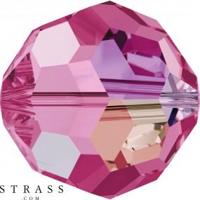 Swarovski Crystals 5000 Rose (209) Aurore Boréale (AB)