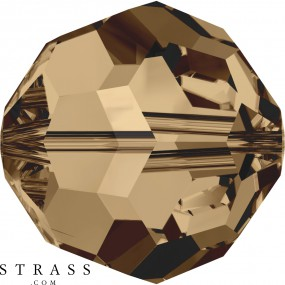 Swarovski Crystals 5000 Light Smoked Topaz (221)