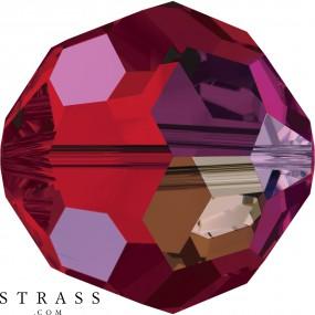 Swarovski Crystals 5000 Light Siam (227) Aurore Boréale (AB)