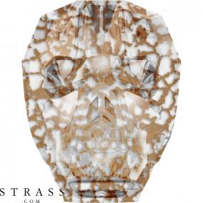 Swarovski Crystals 5750 Crystal (001) Rose Patina (ROSPA)