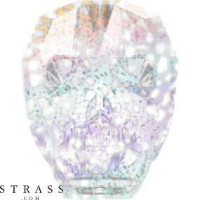 Swarovski Crystals 5750 Crystal (001) White Patina (WHIPA)
