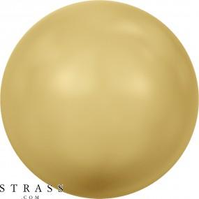 Swarovski Crystals 5810 Crystal (001) Gold Pearl (296)