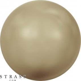 Swarovski Crystals 5810 Crystal (001) Vintage Gold Pearl (651)
