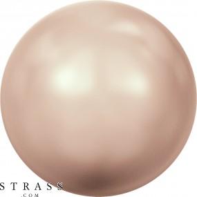 Swarovski Crystals 5810 Crystal (001) Rose Gold Pearl (769)