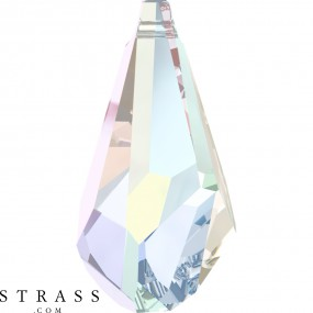 Swarovski Crystals 6015 Crystal (001) Aurore Boréale (AB)