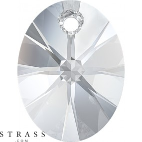 Swarovski Crystals 6028 Crystal (001) Rose Gold Both Sides (ROGL2X)