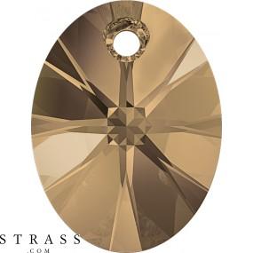Swarovski Crystals 6028 Crystal (001) Rose Gold (ROGL)
