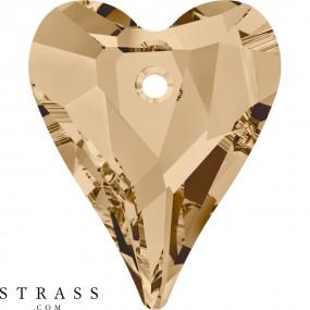 Swarovski Crystals 6240 Crystal (001) Golden Shadow (GSHA)