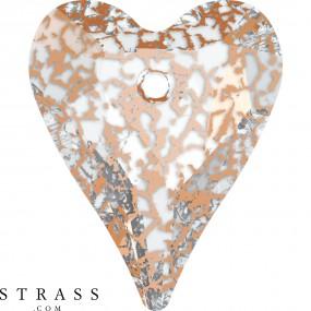 Swarovski Crystals 6240 Crystal (001) Rose Patina (ROSPA)