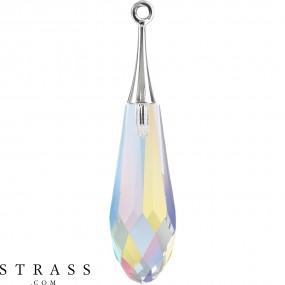 Swarovski Crystals 6532 Crystal (001) Aurore Boréale (AB)