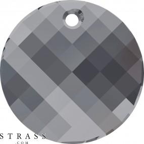 Swarovski Crystals 6621 Crystal (001) Silver Night (SINI)