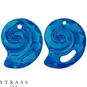 Swarovski Crystals 6731 Crystal (001) Bermuda Blue (BBL)