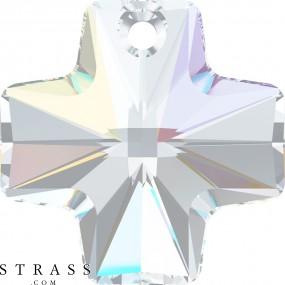 Swarovski Crystals 6866 Crystal (001) Aurore Boréale (AB)