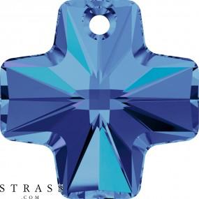 Swarovski Crystals 6866 Crystal (001) Heliotrope (HEL)