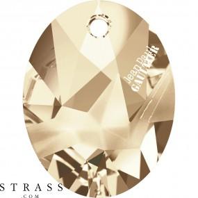 Swarovski Crystals 6910 Crystal (001) Golden Shadow (GSHA)