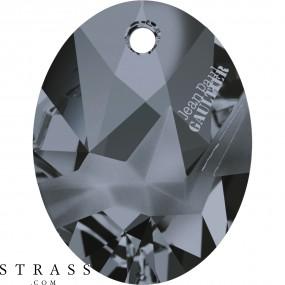 Swarovski Crystals 6910 Crystal (001) Silver Night (SINI)