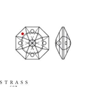 Swarovski Crystals 8118 MM 16,0 CRYSTAL B (266000)